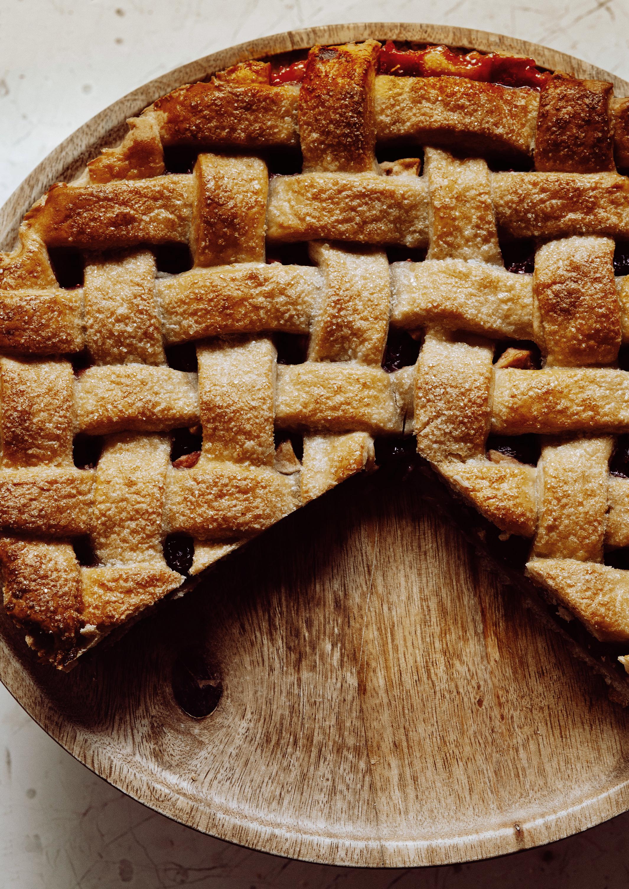 Apfel Cranberry Tarte