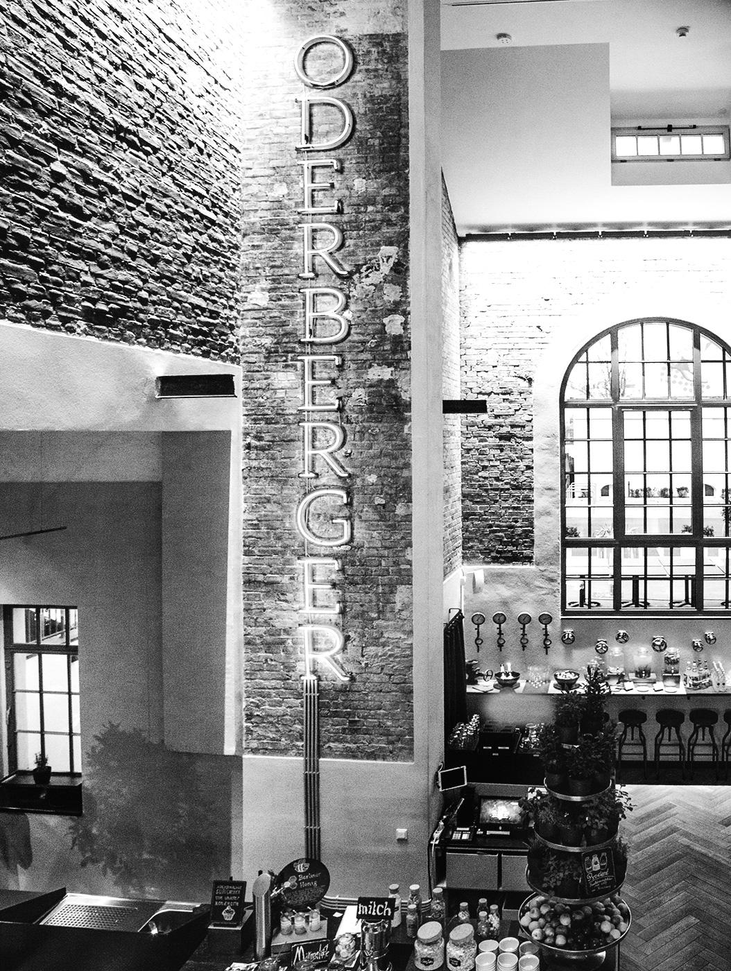 Das Hotel Oderberger, mit historischem Stadtbad Charme
