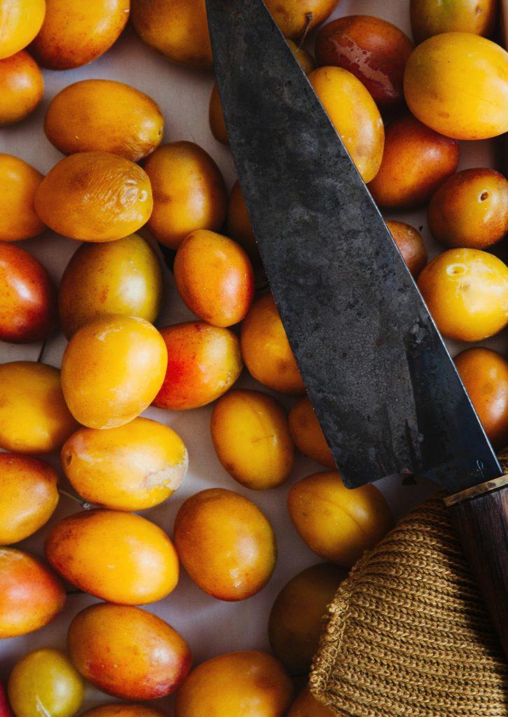 Gelbe Pflaumen Marmelade