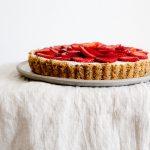 No Bake Cheesecake mit weißer Schokolade