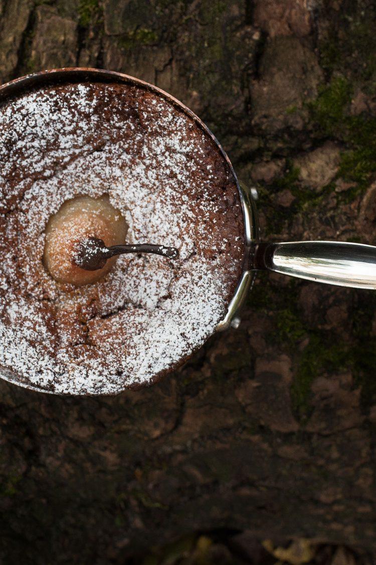 PastinakenApfelkuchenimKupfertopfgebacken