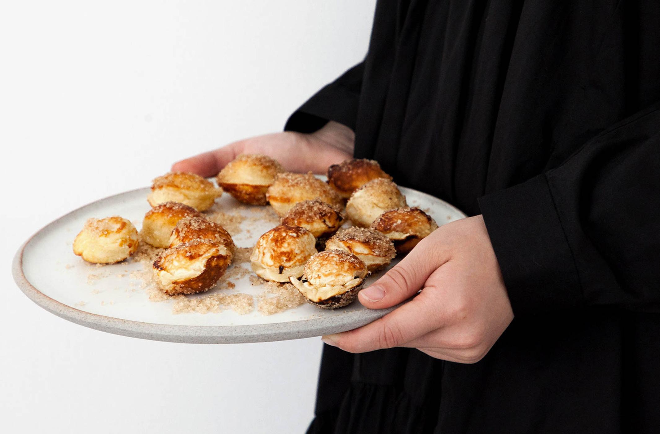 Quarkbällchen ohne Friteuse backen