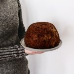 Traditionelles Essen Christmas Pudding