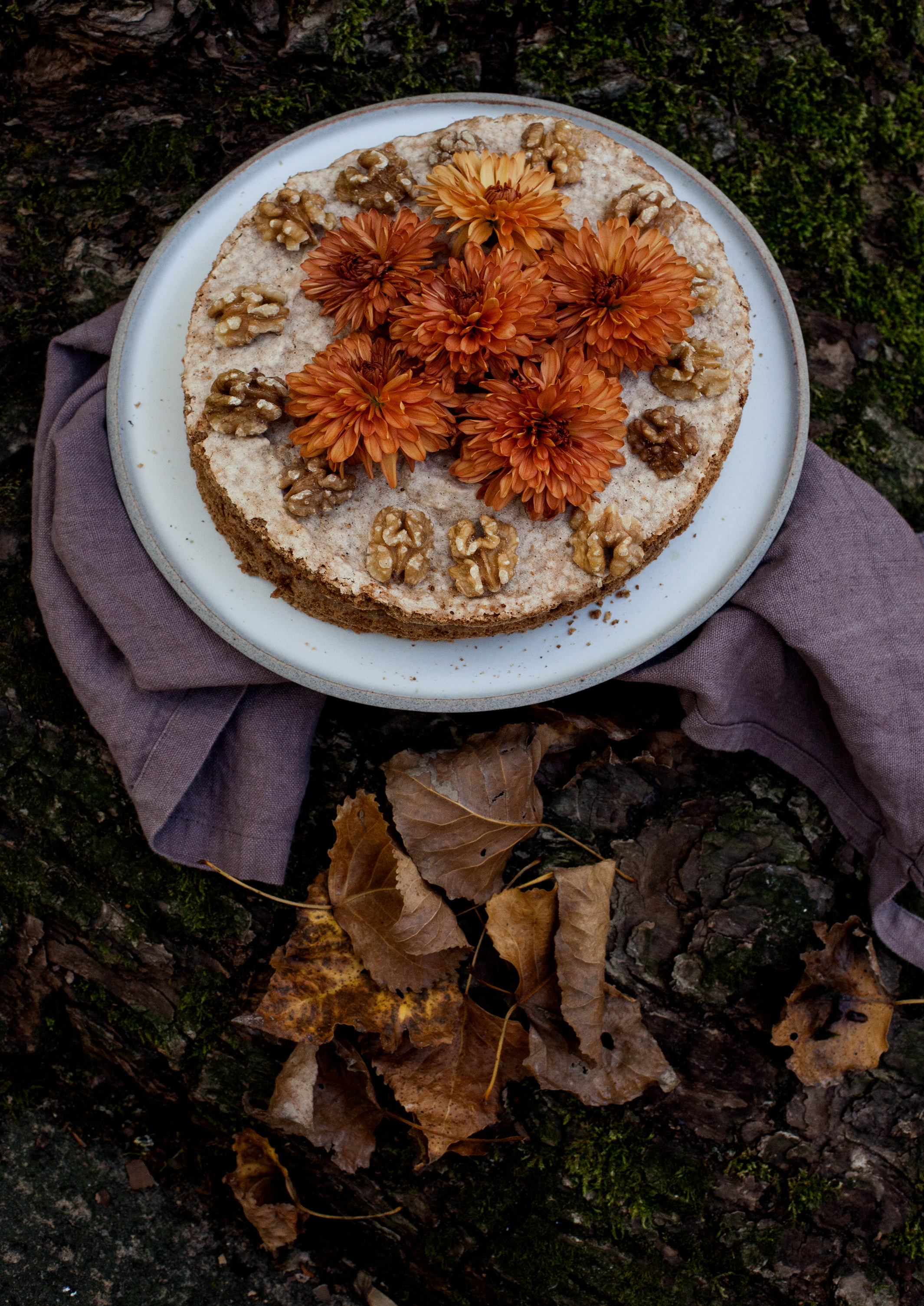 Walnuss Kuchen mit Kaffeecreme_MG_3297