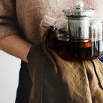 Walnuss Kuchen mit Kaffeecreme